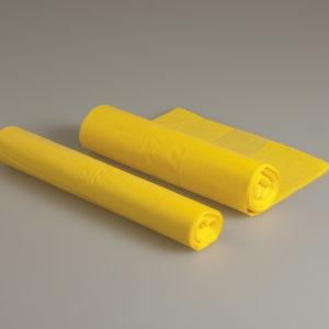 Euro-Bim-säkki 75 litraa, 42 litran laatikkoon, keltainen