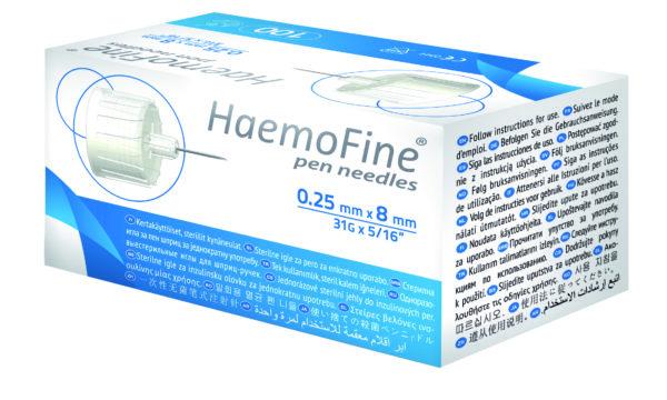 HaemoFine-insuliinikynäneula 31G x 8 mm
