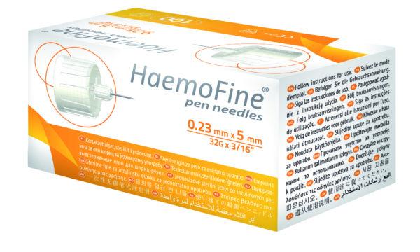 HaemoFine-insuliinikynäneula 32G x 5mm