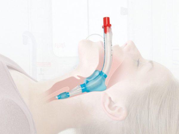 Larynx-tuubisetti aikuisille, sisältää 1 kpl, koot 3, 4 ja 5