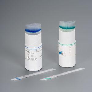 Mikrokapillaari, 100 μl kohdalla merkkiviiva