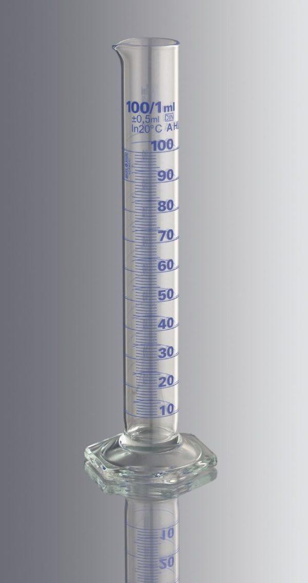 Mittalasi korkea 250:2 ml, luokka A