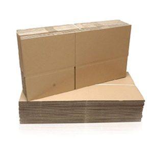 Pahvilaatikko Neopor-laatikoille, kaksiosainen, ruskea