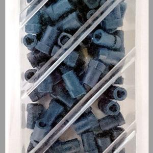Tulpat Ø 2,34 mm kapillaareihin, sininen