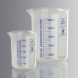 Dekantterilasi 2000 ml, matala malli, muovia