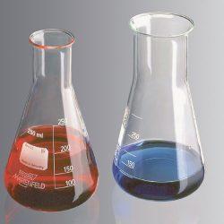 Erlenmeyer-pullo 2000 ml, kapea kaula