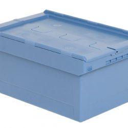 Kuljetuslaatikko 47 l, sininen, sis. kannen