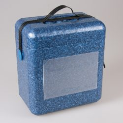 Kuljetuslaukku sininen, 10 litraa, sinettihihna