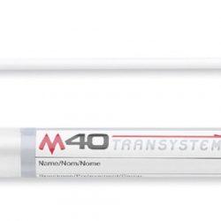 M40 Transystem, muovitikku, Amies ilman hiiltä